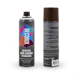 Аэрозольная краска для замши и нубука DECORIX 335 мл матовая - фото 5189