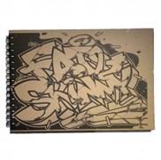 Скетчбук Fat&Skinny Sunches A4 на пружине