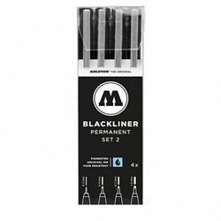 Набор Molotow Blackliner Set 2 - фото 4603