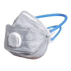 Защитная маска против пыли и а/э слаботоксичных веществ - фото 4776