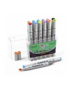 Набор маркеров ARTISTICKS BASIC 12 цветов - фото 5054