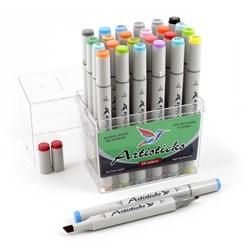 Набор маркеров Artisticks Basic, 24 цвета - фото 5057