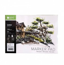 Скетчбук Maxleaf Marker pad А4 - фото 5105