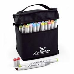 Набор маркеров ARTISTICKS BASIC, BAG 48 цвета - фото 5231