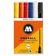 Набор маркеров Molotow One4All 127HS Basic Set I 6 штук